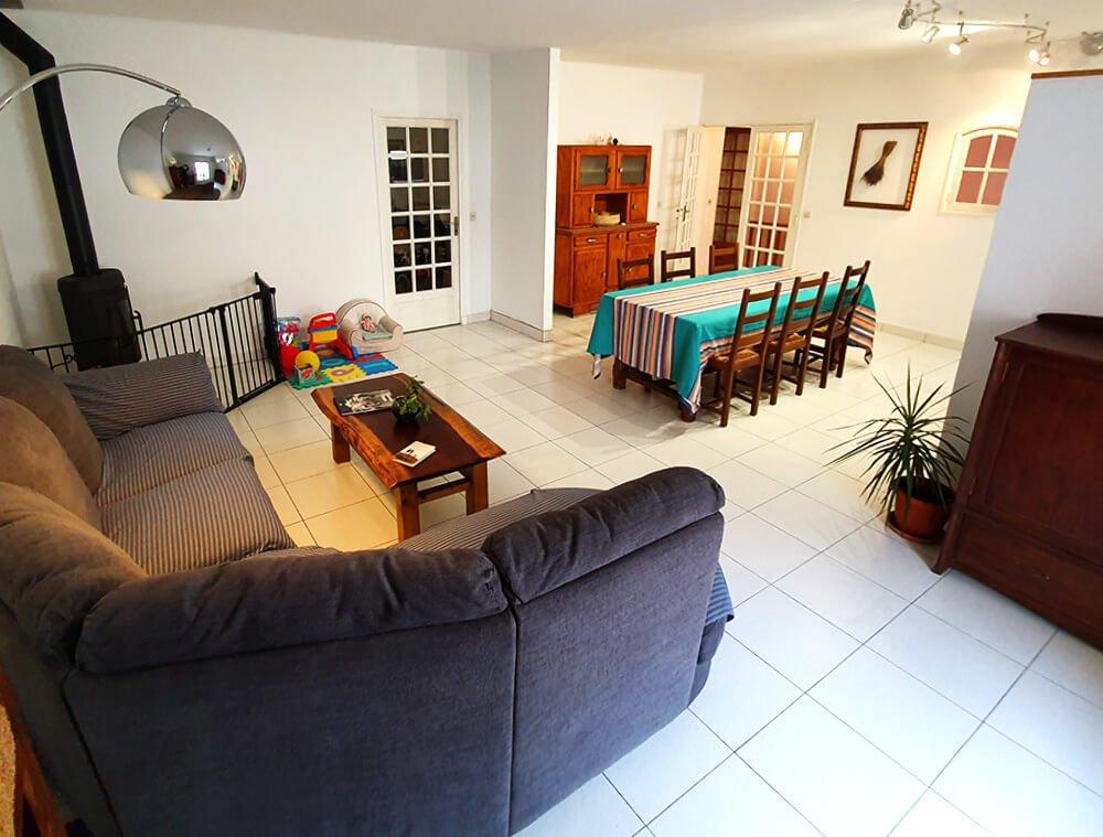 Salon chambres d'hôtes à Sète Hérault